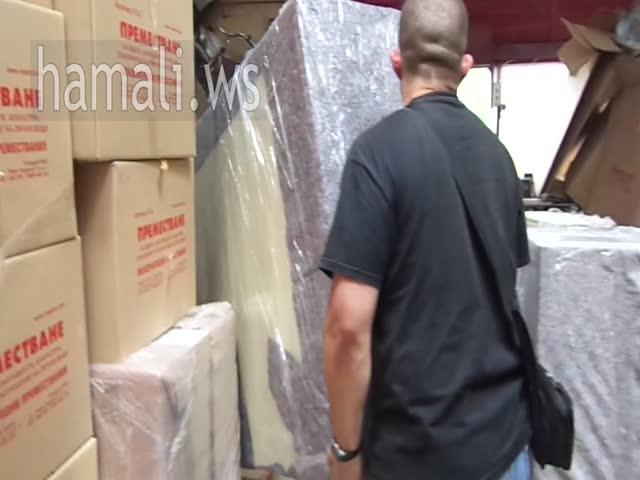 транспорт на мебели с опаковане и съхранение