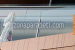 стъклени парапети за тераси