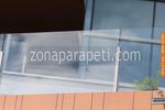 изработка и монтаж на стъклени парапети за балкони