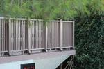 дървени парапети от бук за тераси по поръчка