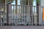 дървени парапети от бук за тераси
