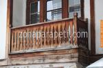 терасни дървени парапети от чам