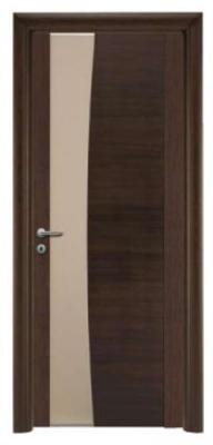 Стилна интериорна врата цвят венге
