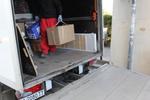качване и сваляне на товари с камион по поръчка