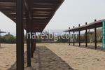 дървени навеси за плажове по поръчка