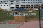 Дървена будка по проект