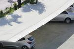 изработване на сенник по поръчка за паркинг