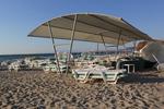 сенник за плаж от акрилен плат