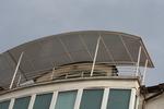 парапет за тераса от метален профил