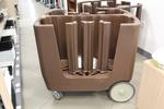 Професионални пластмасови колички за заведения