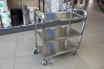 Метални колички за ресторанта