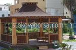 изграждане и монтаж на дървена шатра